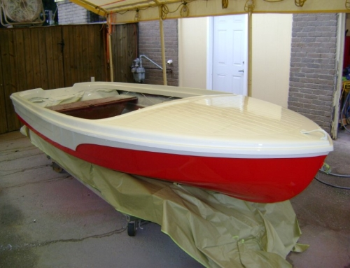 1972 Runabout 15ft Paint Job