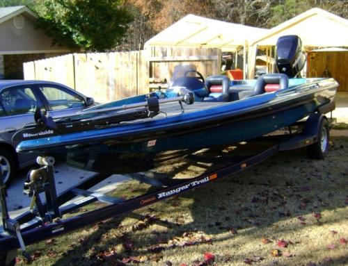 1995 Ranger 487 Composite Transom