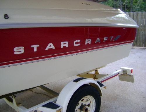1995 Star Craft 1710 Tree Damage