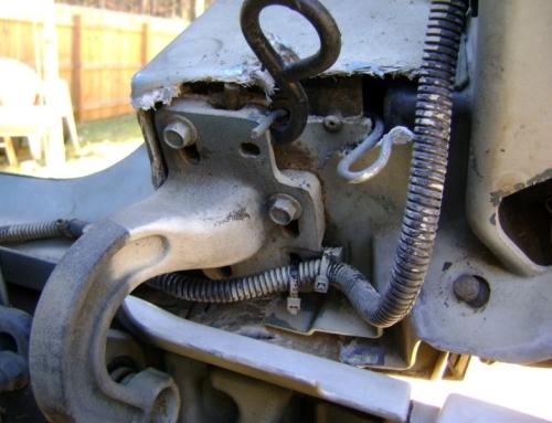 2004 Volvo Tractor Hood Hinge Repair
