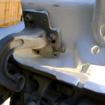 2004 Volvo Tractor Hood Hinge (10)