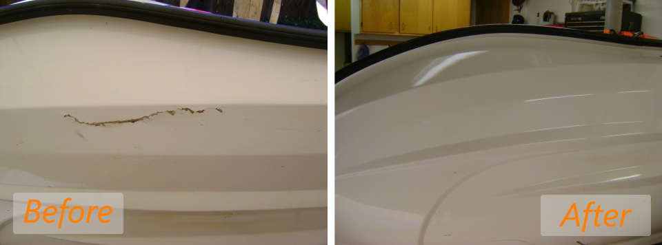 2006 honda aquatrax before and after