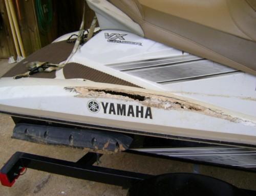 2008 Yamaha VX Cruiser Wht-Gld