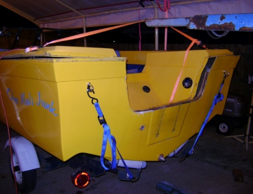 1980 Sea Swirl 17ft Yellow