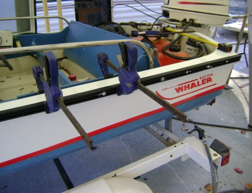 1982 Boston Whaler New Rub Rail