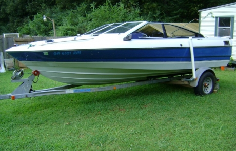 1988 Bayliner Capri Paint Job (1)