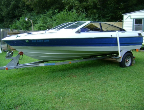 1988 Bayliner Capri Paint Job