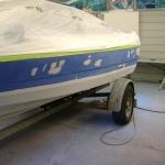 1988 Bayliner Capri Paint Job (4)