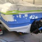 1988 Bayliner Capri Paint Job (5)