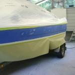1988 Bayliner Capri Paint Job (6)