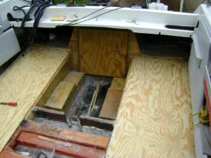 1988 Chaparral 210 Transom Repair (10)