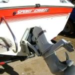 1990 Sport Craft 190 Transom Repair (2)