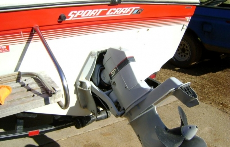 1990 Sport Craft 190 Transom Repair (2)