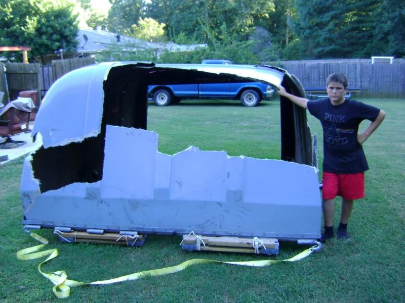 Tractor Trailer Rear Door Cover (1)