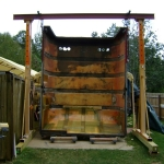 Tractor Trailer Rear Door Cover (11)