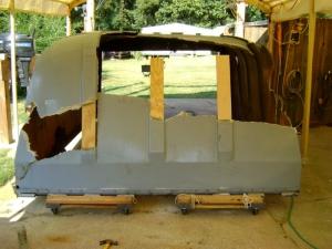 Tractor Trailer Rear Door Cover (2)
