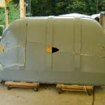 Tractor Trailer Rear Door Cover (5)