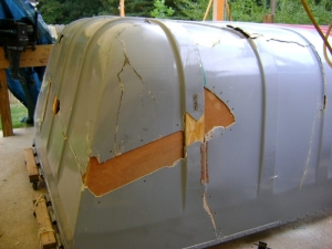 Tractor Trailer Rear Door Cover (6)