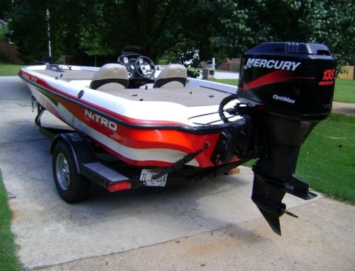 2004 Nitro Bass Boat